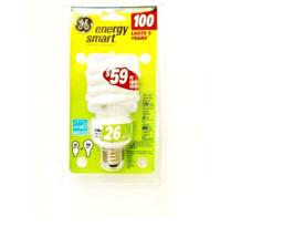 GE Spiral Light Bulb 26 Watts Energy Smart Saver Replacement Lamp Glass Bulb - $10.88
