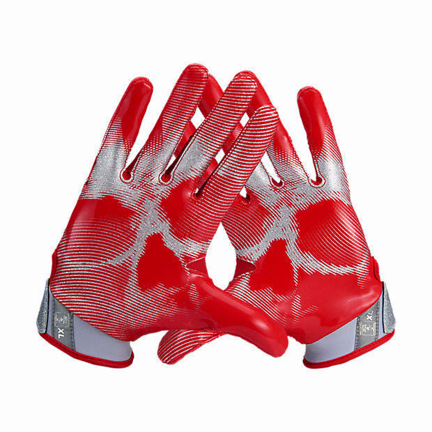 the best attitude 00c5f 25df1 Nike Vapor Jet 4 Football Gloves RED GREY and 50 similar items. 57