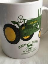 John Deere Mug Collectible Coffee Mug Tractor Moline IL - $12.45