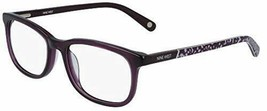 NEW NINE WEST NW 5169 500 Purple Eyeglasses 52mm with Case - $59.35