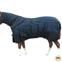 """70"""" Hilason 1200D Waterproof Winter Horse Blanket Neck Cover Belly Wrap U-D-70 - $113.84"""