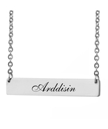 Custom Any Name Bar Necklace Christmas Mother Day Gift for Arddisin - $9.99+