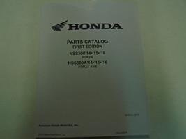 2014 2015 Honda NSS300/A NSS300A Forza Parts Catalog Manual New Factory OEM Book - $108.85