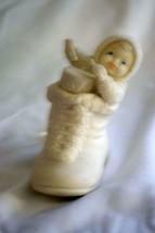 Dept 56 Snowbabies Bootie Baby Line 5, 6 A Drum With Sticks Ornament #68865 - $8.99