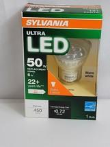 Sylvania Bulb Led Ultra PAR16 GU10 6W 50W 450L 3000K Nib - $12.21