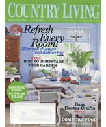 COUNTRY LIVING Magazine - April Issue 2009 - $6.00