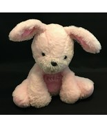 """8"""" Carters PINK Plush Sitting W/Laughing Giggling Sound Bunny Or Puppy W... - $12.82"""