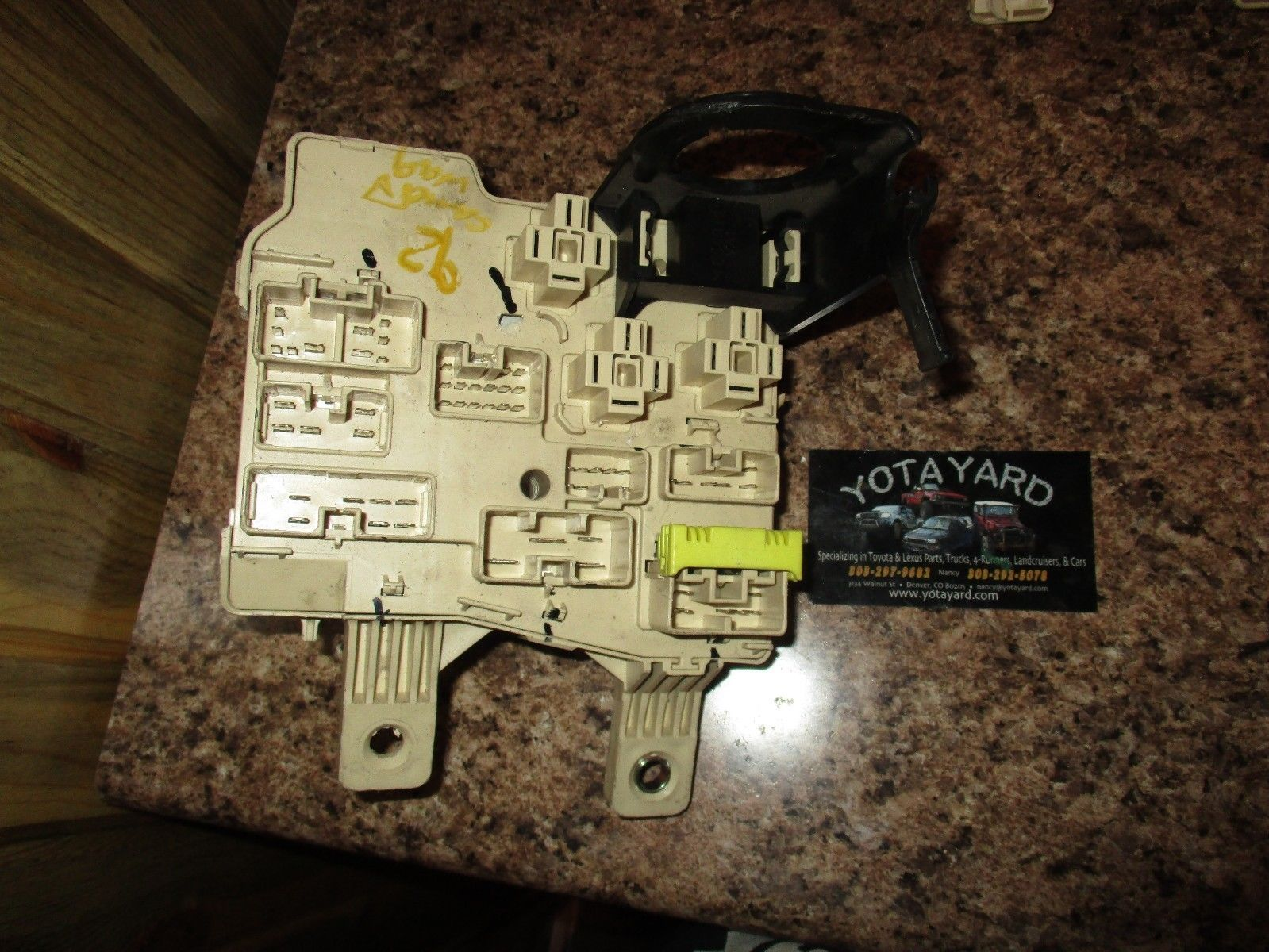 92 93 94 95 96 Toyota Camry Interior Fuse And 11 Similar Items Relay Box S L1600