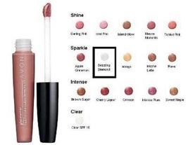 Glazewear Sparkle Lip Gloss in Dazzling Diamond - $82.42