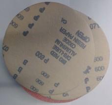 """Carborundum 1960 6"""" Big Red Dri-Lube H&L AO Sanding Discs P600 Grit 100 ... - $8.91"""