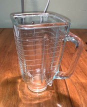 Vintage Osterizer Galaxie  10 speed Blender GLASS 5 cup PITCHER ONLY - $24.99