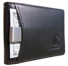 Mt. Everest RFID Blocking Front Pocket Bifold Removable Money Clip, Coin Pocket, - $14.71