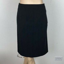 Ann Taylor Black Panel A Line Skirt 10 - $29.69