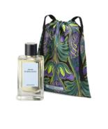 Purple Rain Iconic Prada insignia Designer Silk Pouch - $58.95