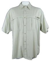 Columbia Sportswear Co Green Short Sleeve Vented PFG Shirt Men's Size XXL - $26.70