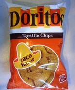 Doritos Tortilla Chips, Taco Flavor, 10 oz ea 1 bag - $11.87
