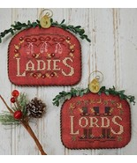 12 Days: Ladies Lords cross stitch chart Hands ... - $9.00
