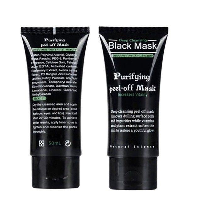 57. 57. Previous. Blackhead Remover Deep Cleansing Purifying Acne Peel Black Mud Face Mask!