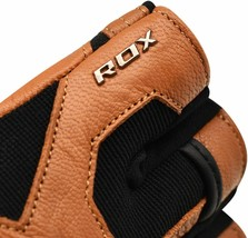 RDX MMA Kick Boxing GYM FITNESS LEATHER GLOVES TAN COLOR TOP QUALITY GRE... - $67.00