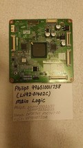 Philips 996510011738 (LJ92-01402C) Main Logic CTRL Board For 50PFP5332D/37 - $39.59
