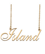 Island Custom Name Necklace Personalized for Mother's Day Christmas Gift - $15.99+