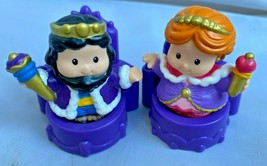 Fisher Price Little People Castle Palace Mighty Kings Parts King Queen Thrones - $23.71
