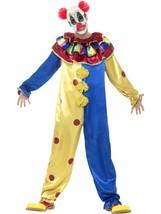 Goosebumps Clown Kostüm mit Overall, M, Halloween Kostüm, Herren - $49.79