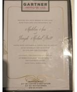 Gartner Studios Gold Foil Filagree invitations 25 count with envelopes (... - $13.07
