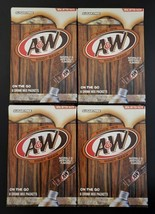 A&W Root Beer Drink Mix Singles On the Go Sugar Free 24-PACKET LOT SAME-... - $11.26