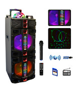 beFree Sound Dual 12 Inch Subwoofer Portable Bluetooth Party Speaker wit... - $302.87