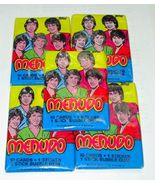 Five Packs of Menudo Rock Band Trading Cards Ricky Martin Mint in Packag... - $4.95