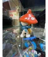Smurfs Original 20118 Mushroom Umbrella SCHLEICH Vintage Smurf Figure Toy - $8.86