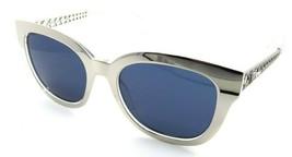 Christian Dior Sunglasses Diorama 1 SBGKU 52-19-145 Light Gold Crystal / Blue - $235.20