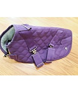 Canine Styles Size 14 Dog Winter lined Coat  Purple - $19.79
