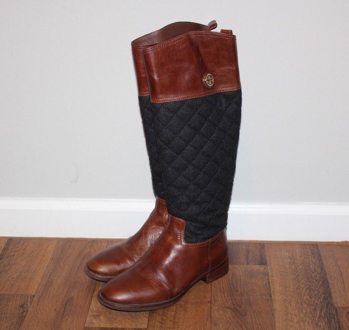 defe2faa245 TORY BURCH Womens 6.5 Rosalie Riding Boots and 50 similar items. S l1600