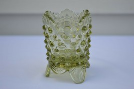 Fenton Hobnail Colonial Green Toothpick Holder #3795 CG - $9.90