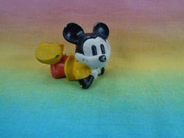 Vintage Disney Mickey Mouse Laying PVC Figure - as is - $2.48
