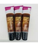 3-Pack Bath & Body Works CARAMEL VANILLA LATTE Lip Gloss 14 ml/0.47 ml Each - $19.75