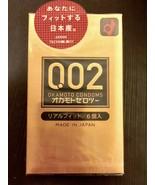 Okamoto 002 Zero Zero Two Real Fit Ultra Thin 0.02 mm Condom 6pcs(US Sel... - $12.17
