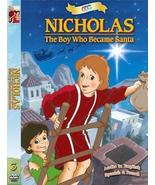 Nicholas: The Boy Who Became Santa DVD - $14.95