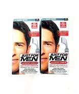 Just for Men Easy Comb-in No-Mix Hair Color A-50 Darkest Brown 2 Packs 3... - $15.88