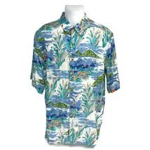 Robert Lyn Nelson Collection Reyn Spooner Men's Aloha Hawaiian Shirt Fis... - $23.33