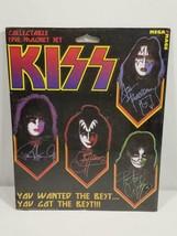 Vintage Mega Mag KISS Collectable Five Magnet Set NIP FREE USA SHIP - $17.99