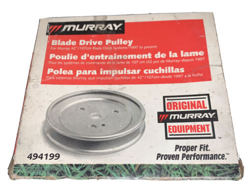 Murray 494199 Blade Drive Pulley OEM NOS - $14.85
