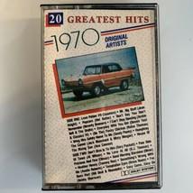 20 Greatest Hits 1970 (Cassette) - $9.89