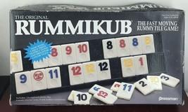 Vintage RUMMIKUB 1990 Rummy Tile Game Pressman - $14.03