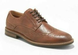 Goodfellow & Co.Braunes Kunstleder Francisco Oxford Schuhe 10.5 Nwt image 1