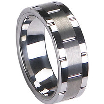 COI Jewelry Tungsten Carbide Wedding Band Ring-TG1967(US5.5/11.5/12.5) - $39.99