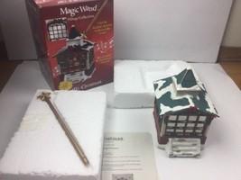 Mr. Christmas Magic Wand Village Collection Illuminated, Musical, Animated - $538,39 MXN