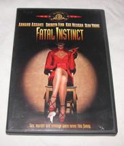 Fatal Instinct DVD, 2003, Comedy, SEAN Young, Armand Assante, Free Ship ... - $11.14
